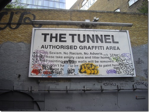 the tunnel londres